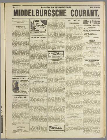 Middelburgsche Courant 1927-11-26