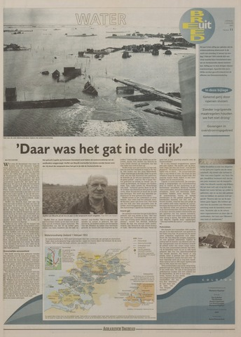 Watersnood documentatie 1953 - kranten 2003-01-11