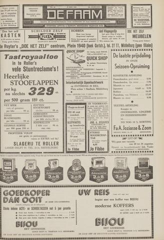 de Faam en de Faam/de Vlissinger 1962-07-27