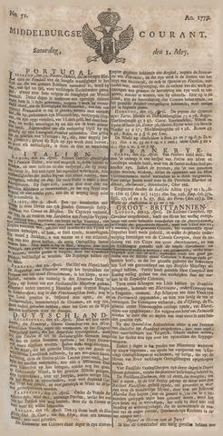 Middelburgsche Courant 1779-05-01