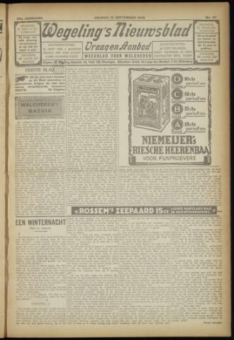 Zeeuwsch Nieuwsblad/Wegeling's Nieuwsblad 1929-09-13