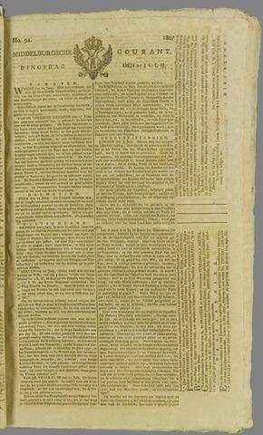 Middelburgsche Courant 1807-07-21