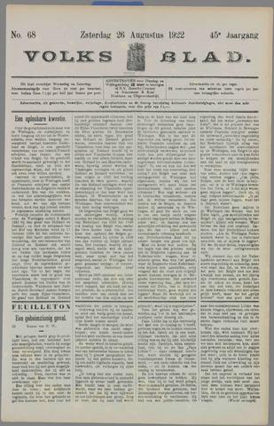 Volksblad 1922-08-26