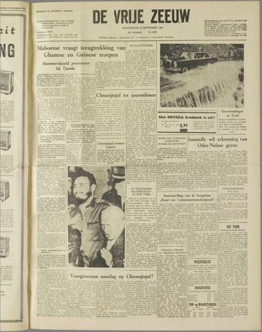 de Vrije Zeeuw 1960-09-22
