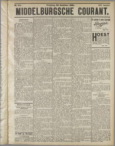 Middelburgsche Courant 1921-10-28