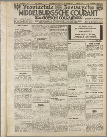 Middelburgsche Courant 1933-09-09