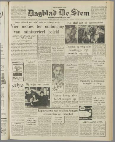 de Stem 1958-03-14