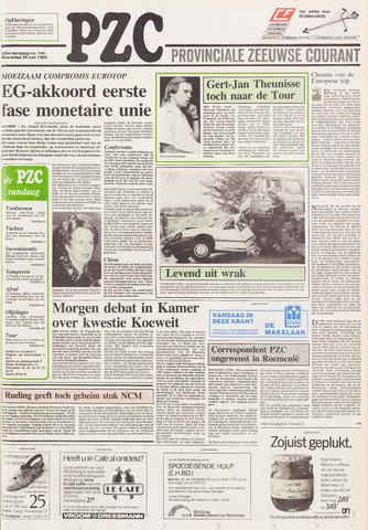 Provinciale Zeeuwse Courant 1989-06-28