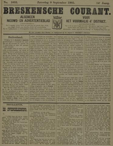 Breskensche Courant 1905-09-09