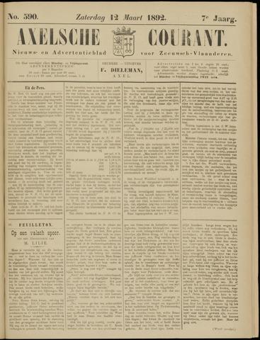 Axelsche Courant 1892-03-12