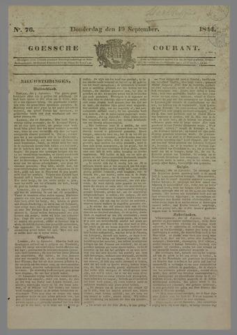 Goessche Courant 1844-09-19