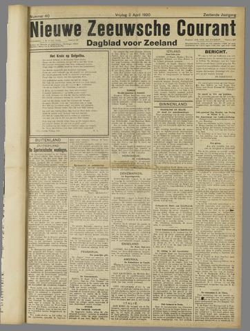 Nieuwe Zeeuwsche Courant 1920-04-02