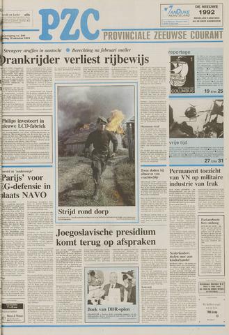 Provinciale Zeeuwse Courant 1991-10-12