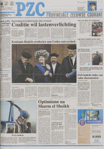 Provinciale Zeeuwse Courant 2005-02-09