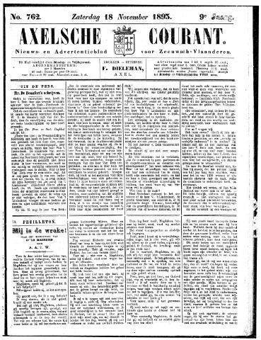 Axelsche Courant 1893-11-18