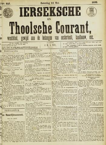 Ierseksche en Thoolsche Courant 1892-05-14