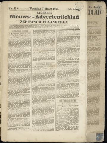 Ter Neuzensche Courant. Algemeen Nieuws- en Advertentieblad voor Zeeuwsch-Vlaanderen / Neuzensche Courant ... (idem) / (Algemeen) nieuws en advertentieblad voor Zeeuwsch-Vlaanderen 1866-03-07
