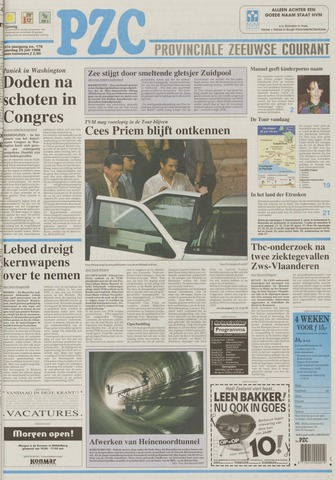 Provinciale Zeeuwse Courant 1998-07-25