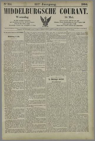 Middelburgsche Courant 1884-05-14