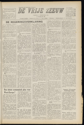 de Vrije Zeeuw 1948-08-13