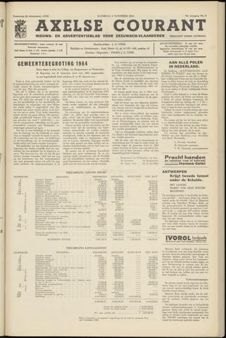 Axelsche Courant 1963-11-09