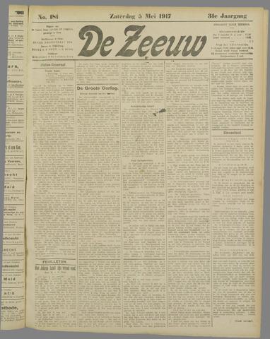 De Zeeuw. Christelijk-historisch nieuwsblad voor Zeeland 1917-05-05