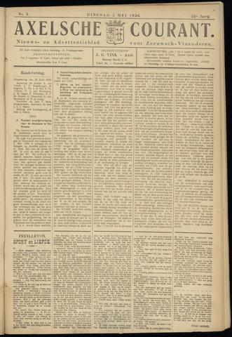 Axelsche Courant 1936-05-05