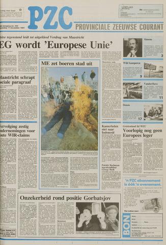 Provinciale Zeeuwse Courant 1991-12-11