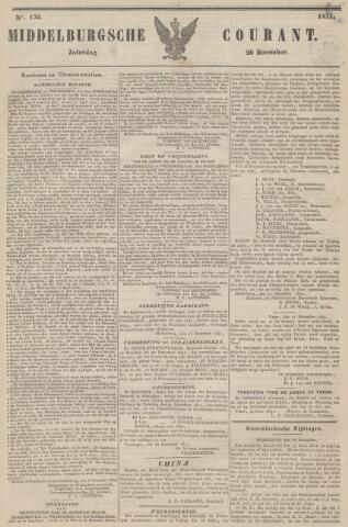 Middelburgsche Courant 1851-12-20