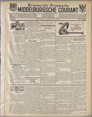 Middelburgsche Courant 1930-08-13