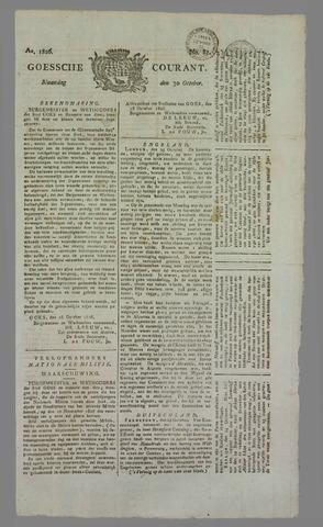 Goessche Courant 1826-10-30