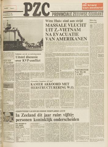 Provinciale Zeeuwse Courant 1975-04-30