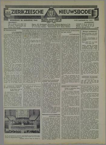 Zierikzeesche Nieuwsbode 1942-08-26