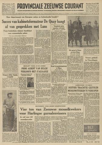 Provinciale Zeeuwse Courant 1959-04-13