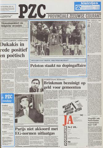 Provinciale Zeeuwse Courant 1988-07-22