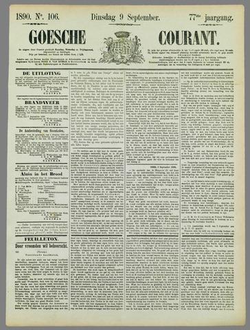 Goessche Courant 1890-09-09