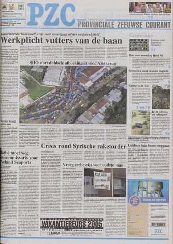 Provinciale Zeeuwse Courant 2005-01-13