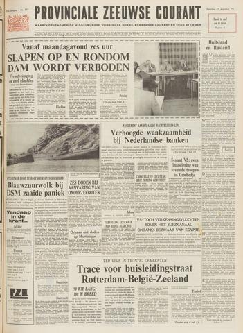 Provinciale Zeeuwse Courant 1970-08-22