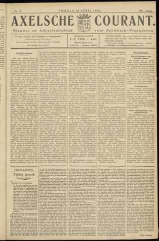 Axelsche Courant 1934-04-13