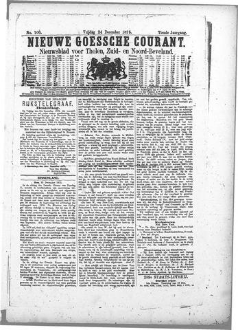 Nieuwe Goessche Courant 1875-12-24