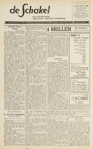 De Schakel 1961-11-10