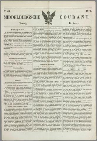 Middelburgsche Courant 1871-03-14