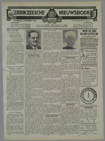 Zierikzeesche Nieuwsbode 1937-10-02