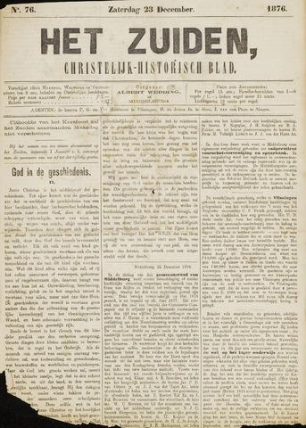 Het Zuiden, Christelijk-historisch blad 1876-12-23