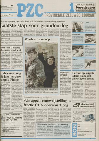 Provinciale Zeeuwse Courant 1991-02-18