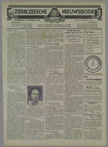 Zierikzeesche Nieuwsbode 1936-10-08