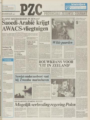 Provinciale Zeeuwse Courant 1981-10-29