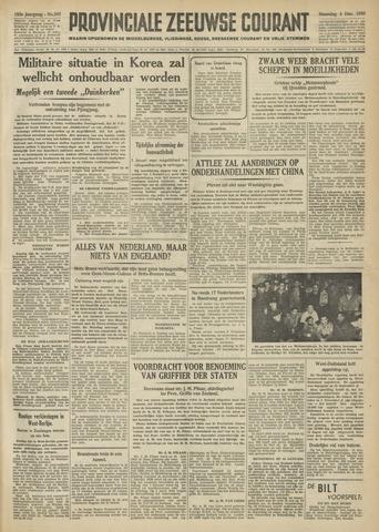 Provinciale Zeeuwse Courant 1950-12-04