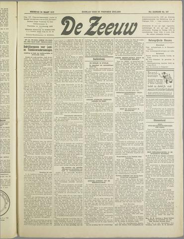 De Zeeuw. Christelijk-historisch nieuwsblad voor Zeeland 1937-03-24