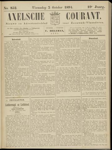 Axelsche Courant 1894-10-03